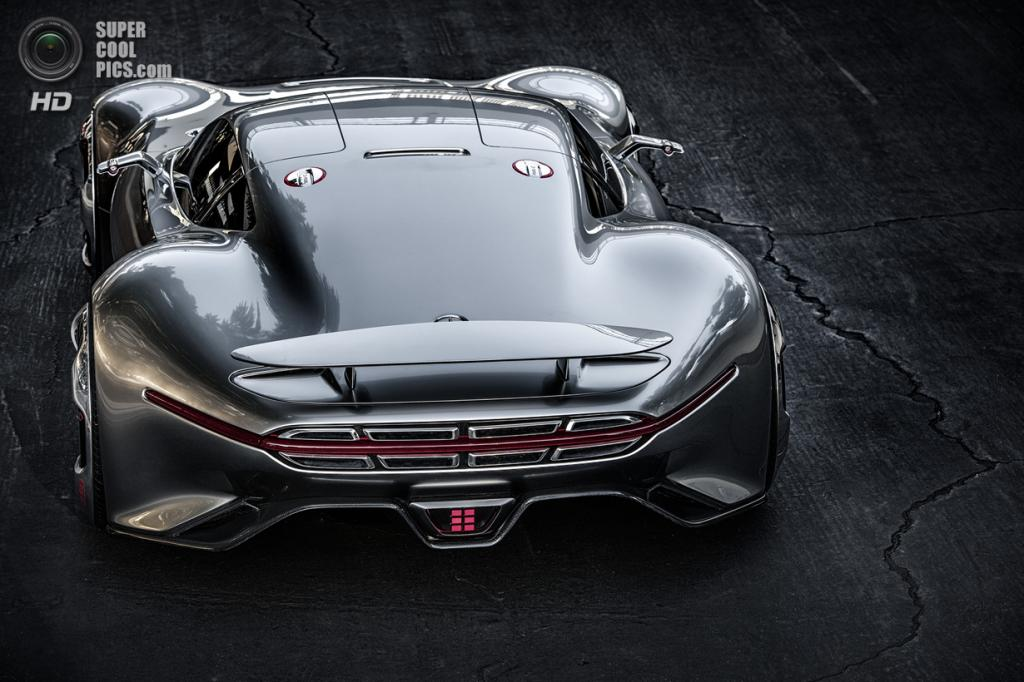 Mercedes-Benz AMG Vision Gran Turismo Concept. (Daimler AG)