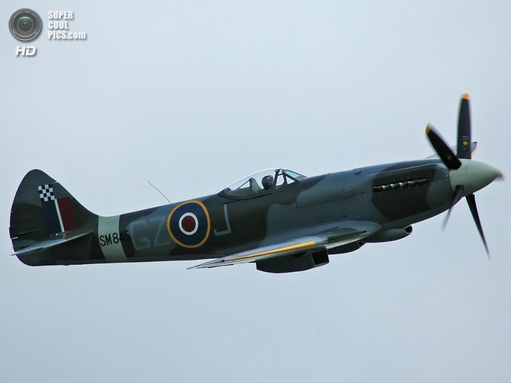Supermarine Spitfire. (Kogo)