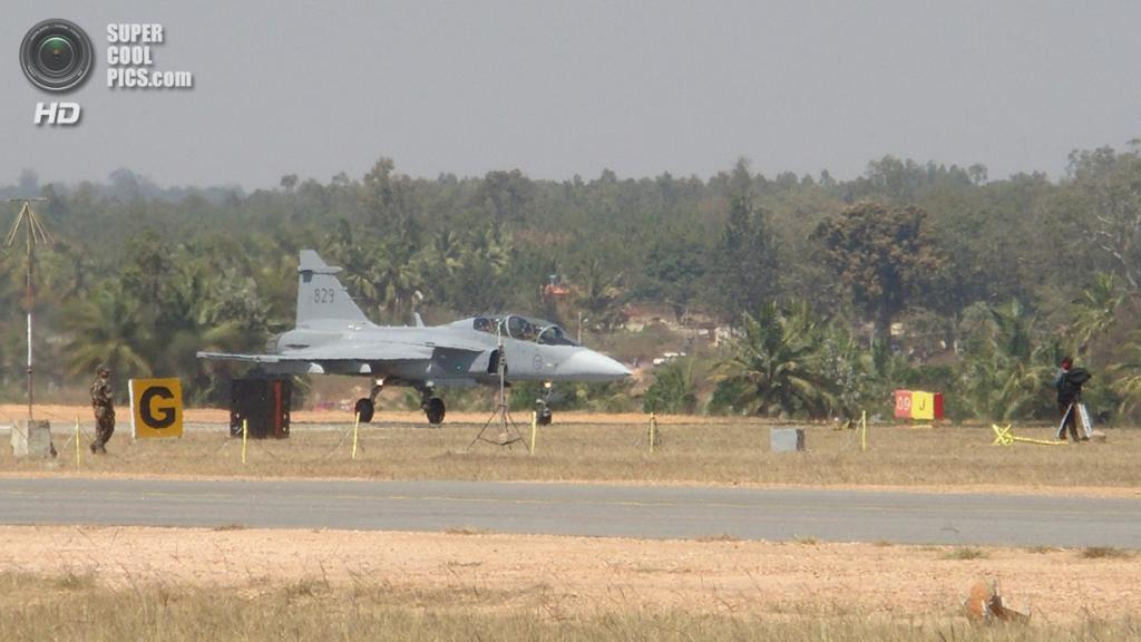 Saab JAS 39 Gripen. (Pritishp333)