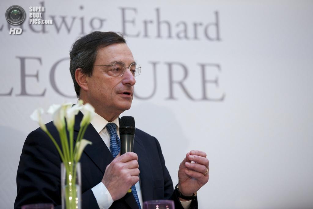 9 место. Президент Европейского Центробанка Марио Драги. (INSM)