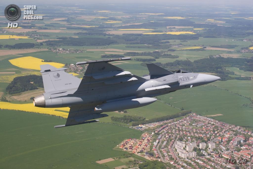 Saab JAS 39 Gripen. (Ministerstvo obrany České republiky)