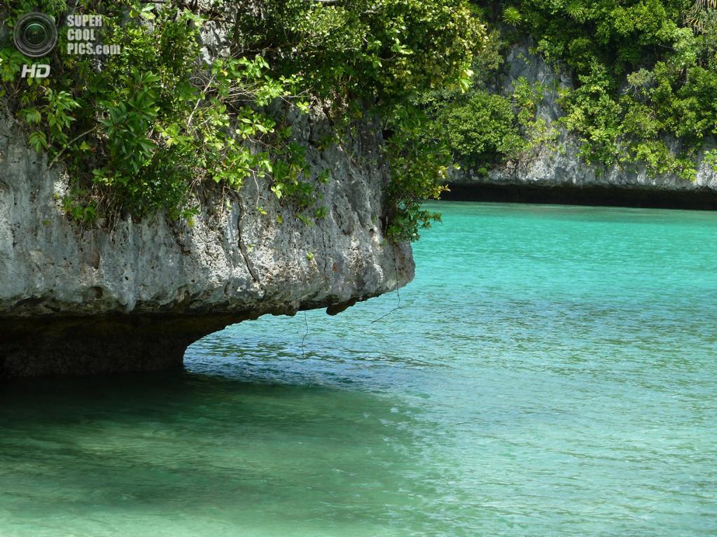 Острова архипелага Палау. (D Byrd)