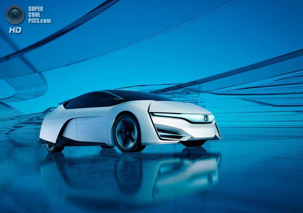 Honda FCEV Concept. (Honda)