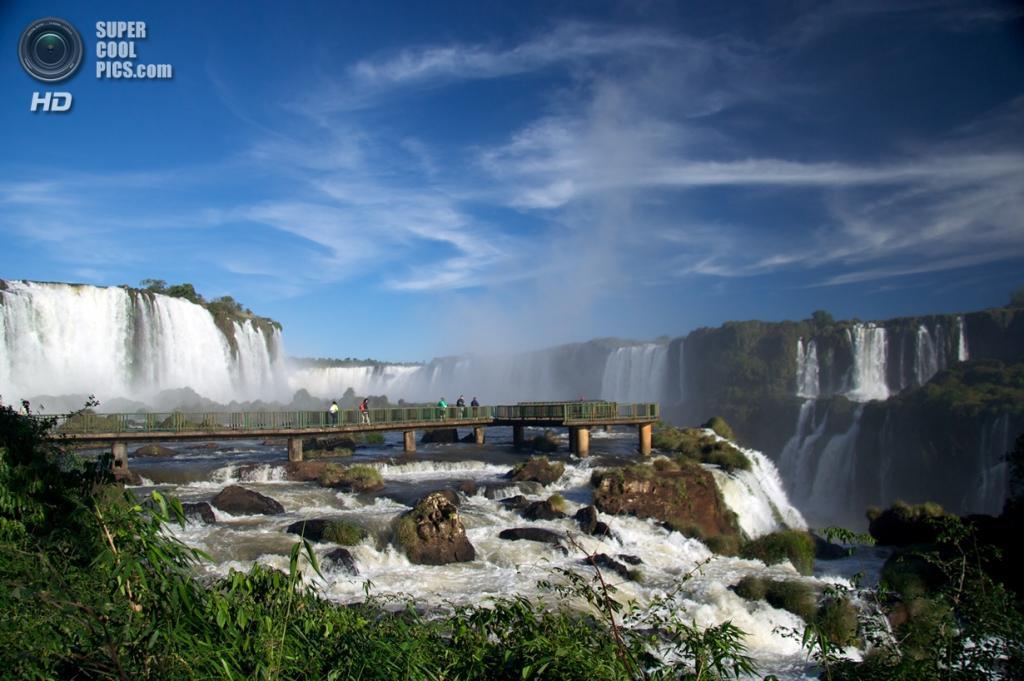 Граница Бразилии и Аргентины. Водопады Игуасу. (mark goble)