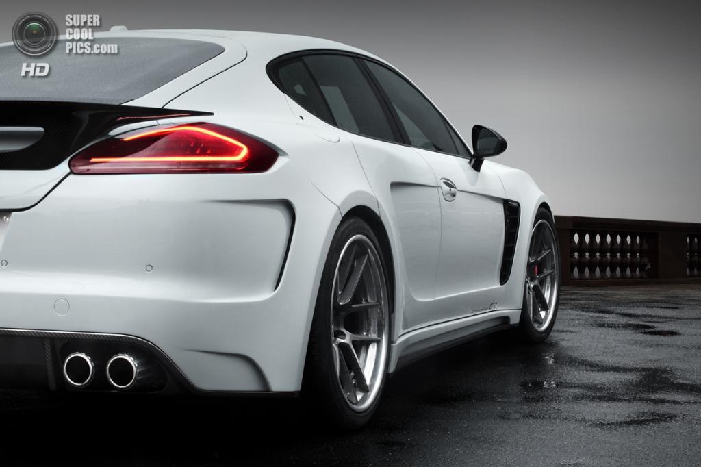 Porsche Panamera Stingray GTR. (TopCar)