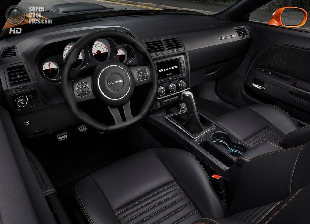 Dodge Challenger R/T Shaker. (General Motors)