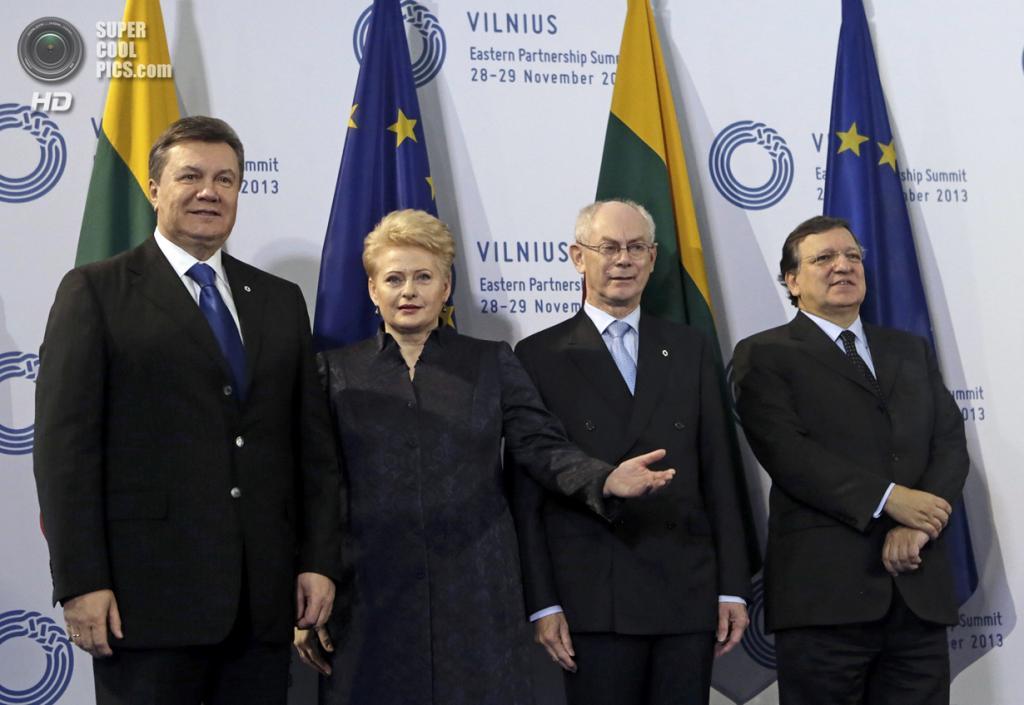 Литва. Вильнюс. 29 ноября. Во время саммита «Восточного партнерства». (REUTERS/eu2013.lt)