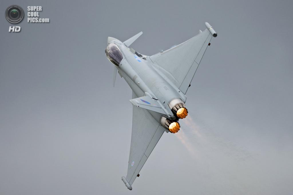 Eurofighter Typhoon. (Peter Gronemann)