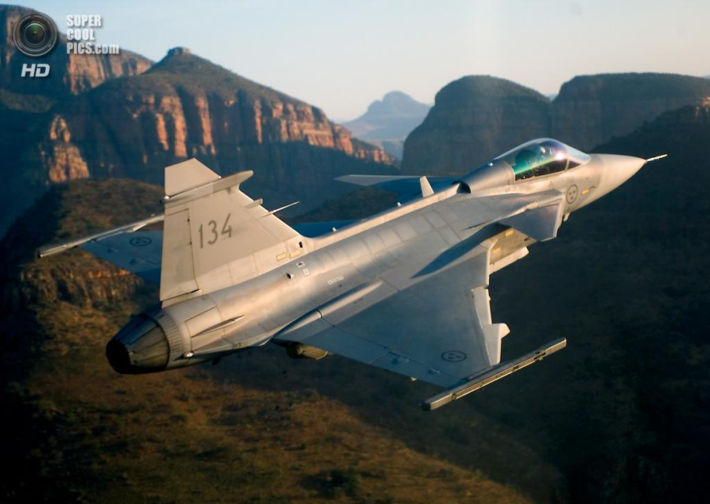 Saab JAS 39 Gripen. (mashleymorgan)