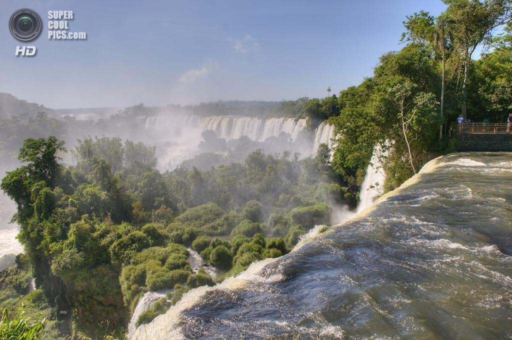 Граница Бразилии и Аргентины. Водопады Игуасу. (Seig Alice & Seig)