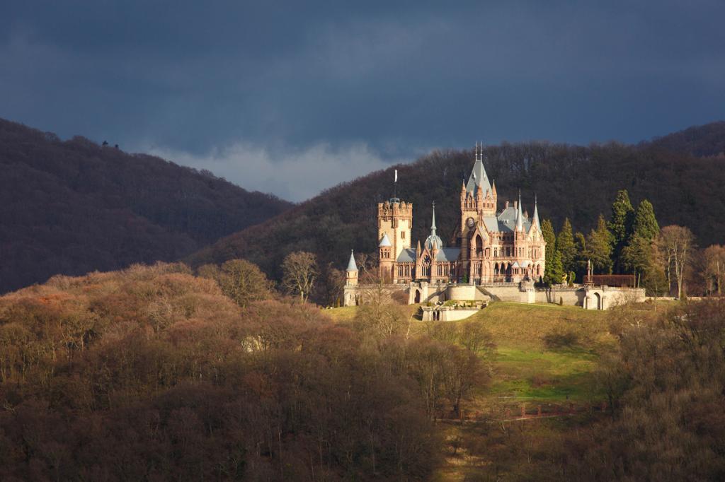 Путешествие по Германии: Замок Драхенбург (13 фото)