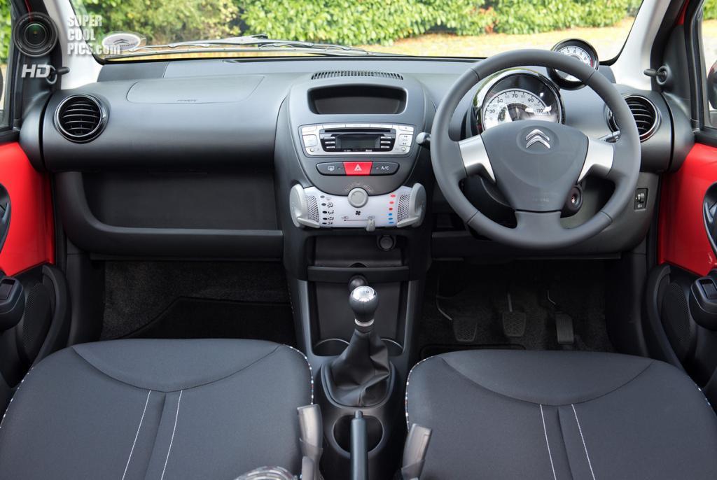 Citroën C1 Platinum. (PSA Peugeot Citroën)