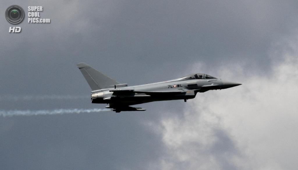 Eurofighter Typhoon. (Max Pfandl)