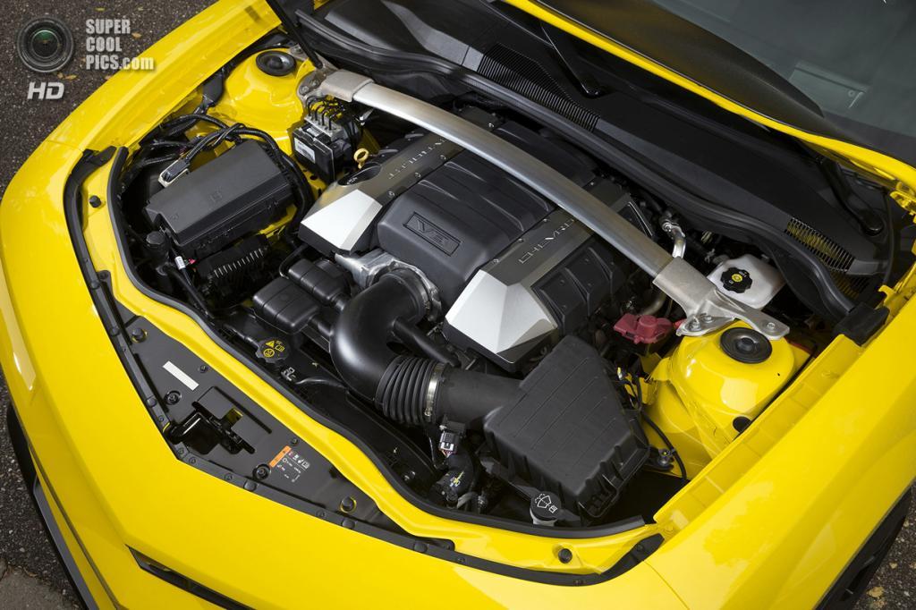 Chevrolet Camaro 1LE. (General Motors)