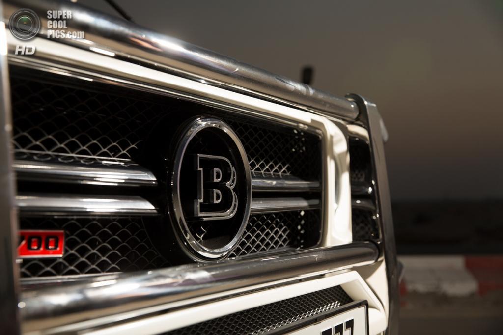 Brabus B63S-700 Widestar. (Brabus)