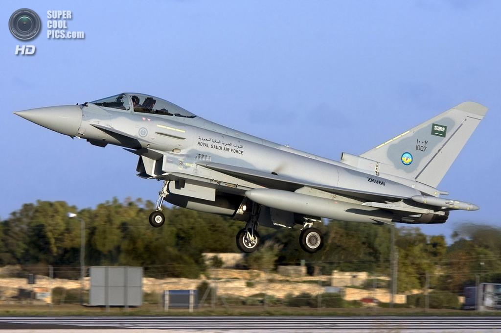Eurofighter Typhoon. (Gordon Zammit)