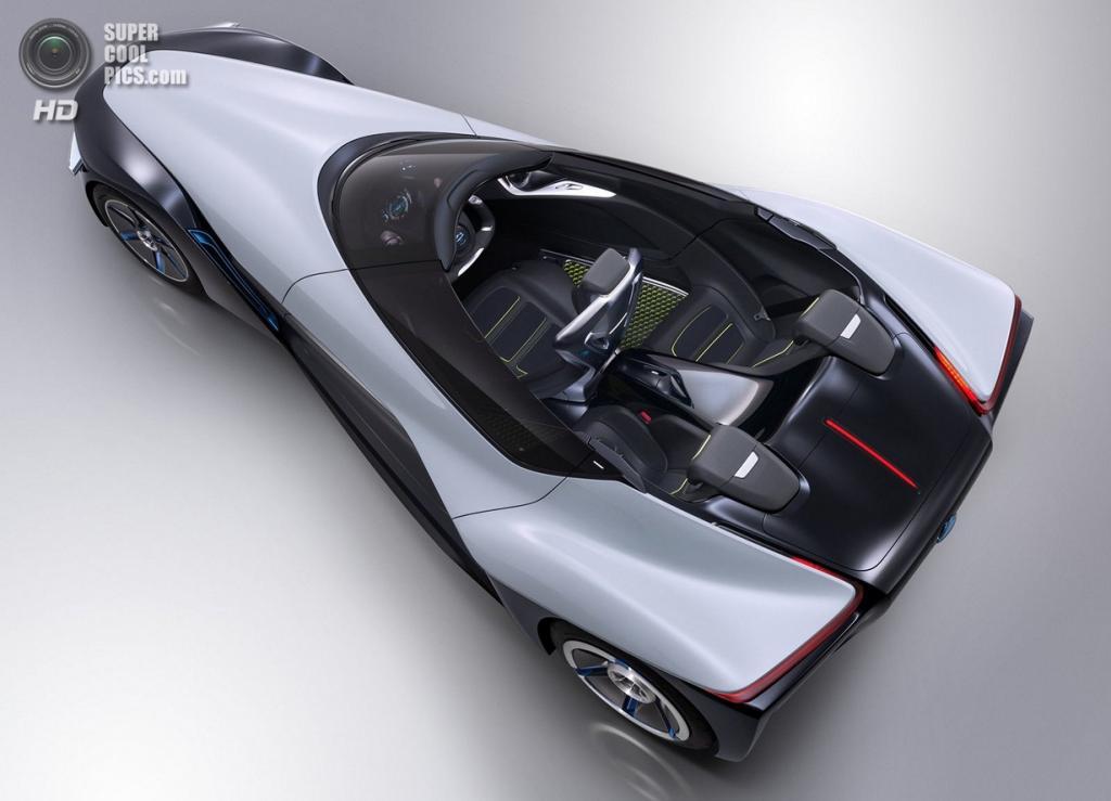 Nissan BladeGlider Concept. (Nissan)