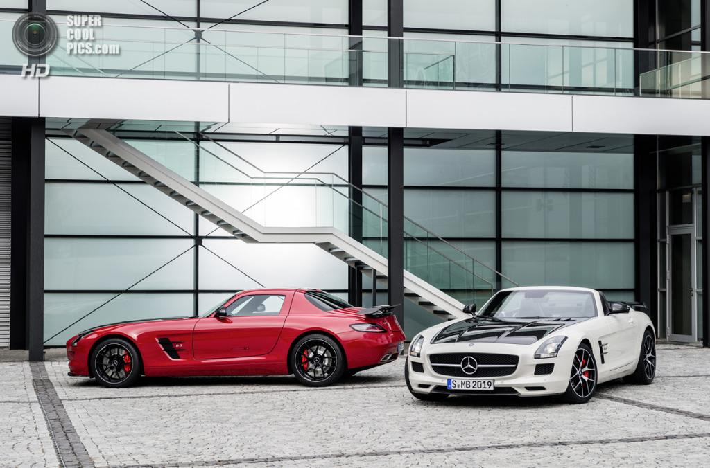 Mercedes-Benz SLS AMG GT Final Edition. (Daimler AG)