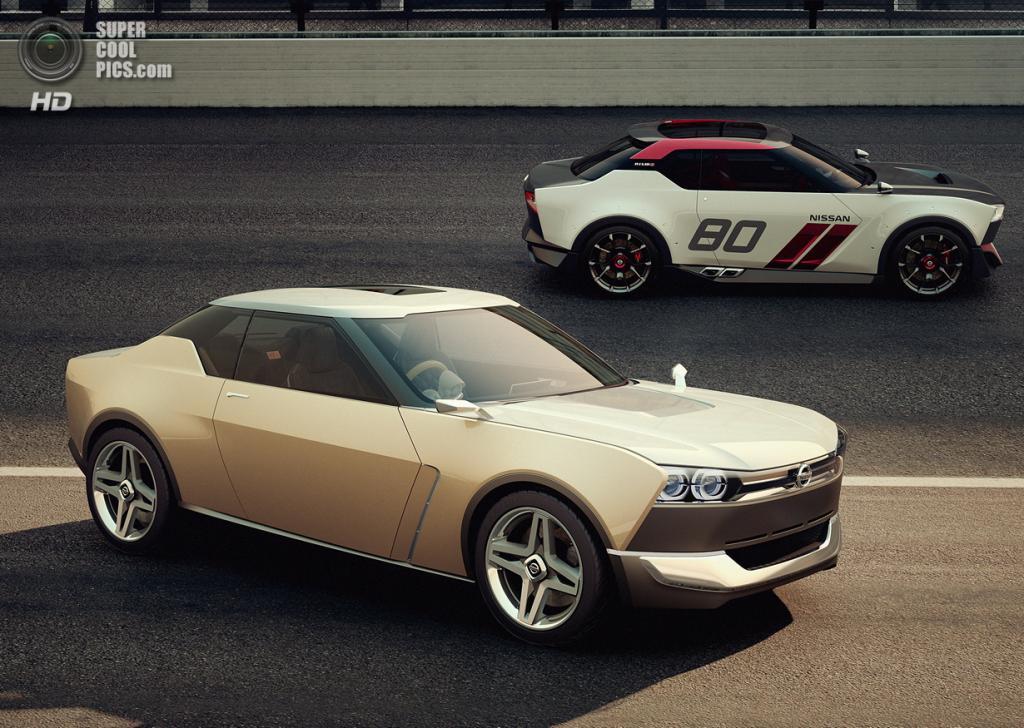 Nissan IDx FreeFlow + Nissan IDx Nismo. (Nissan)
