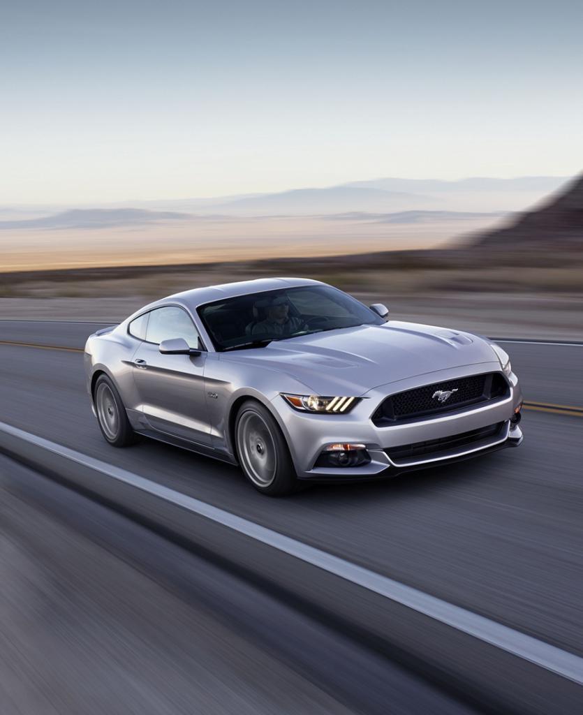 Ford представила 6-ое поколение «Мустанга» (13 фото)