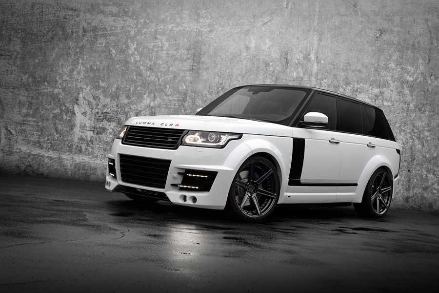 Lumma Design и TopCar поработали над Range Rover (9 фото)