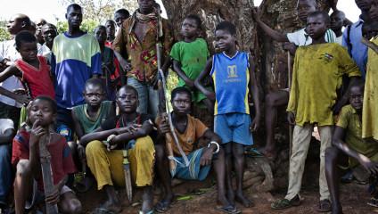 Религиозная война в Центральноафриканской Республике (15 фото)