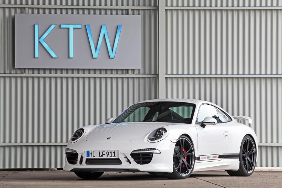 KTW Tuning и TechArt модернизировали Porsche 911 Carrera S (20 фото)