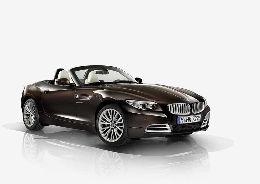 BMW Z4 with Design Pure Fusion. (BMW AG)