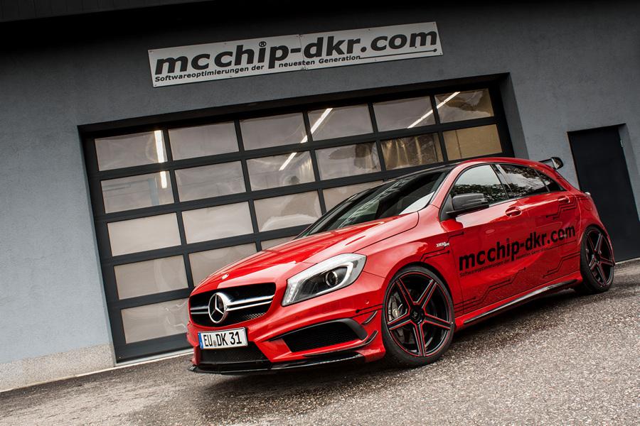 Mercedes-Benz A45 AMG. (Mcchip-DKR)
