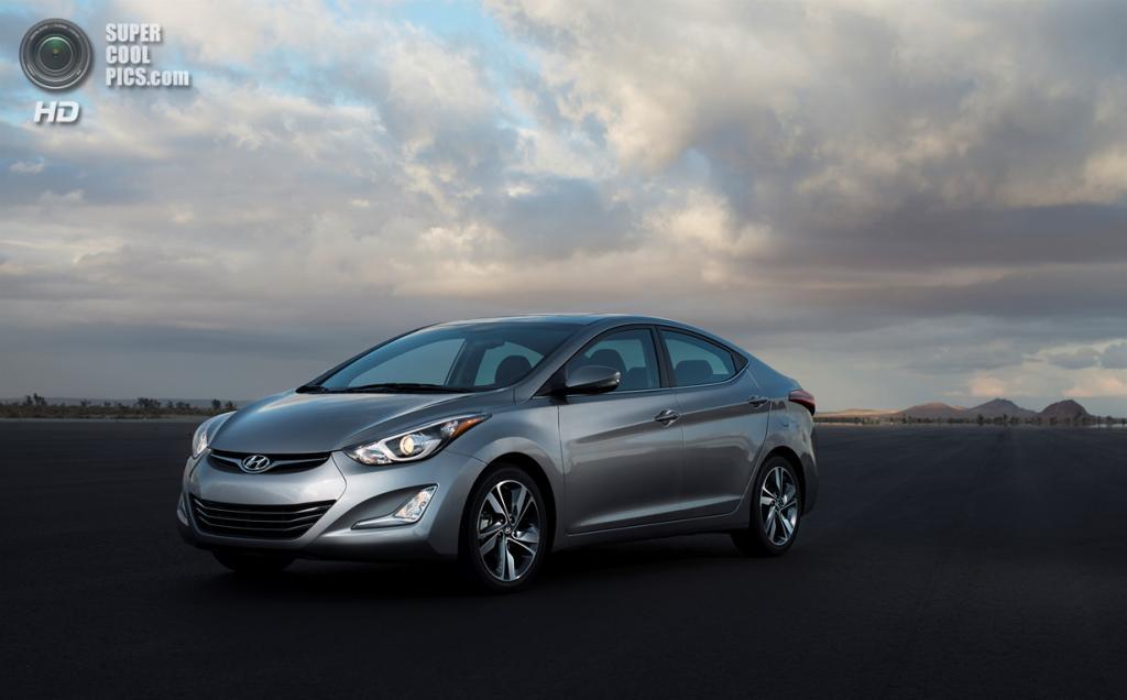 Hyundai Elantra Limited. (Hyundai)