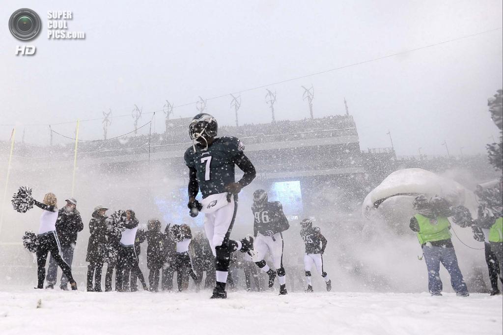 США. Филадельфия, Пенсильвания. На матче НФЛ. (AP Photo/Michael Perez)