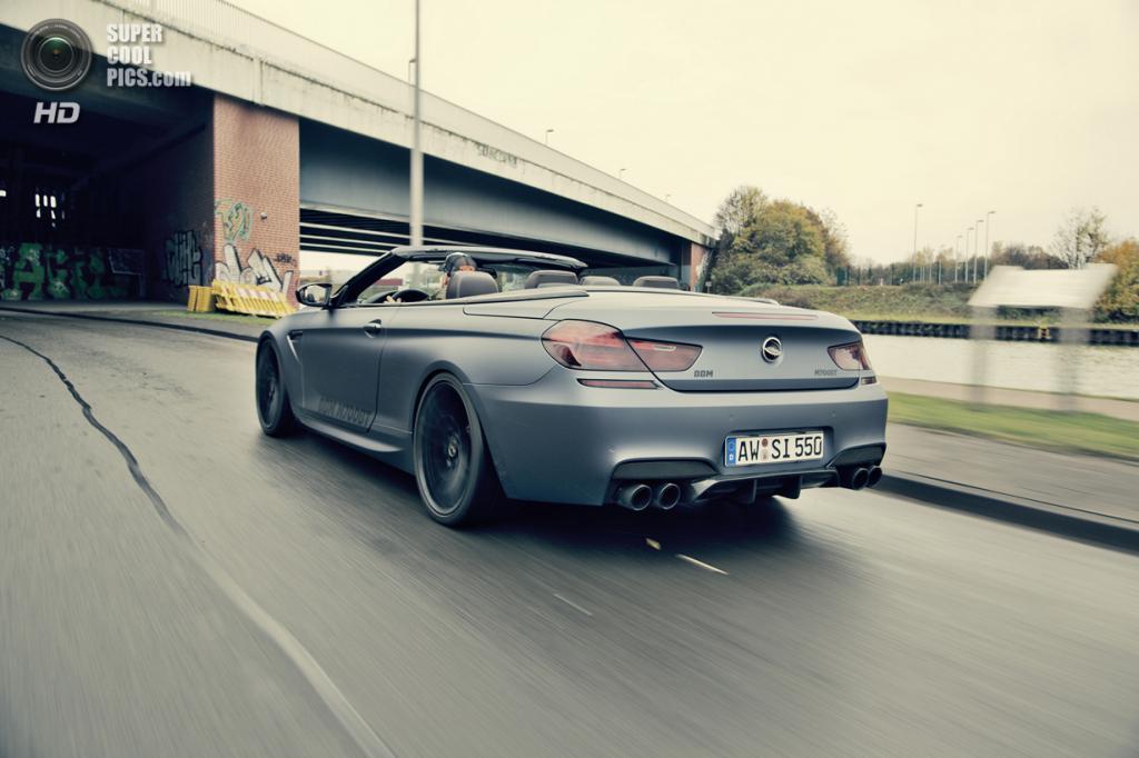 BMW M6 Convertible. (BBM Motorsport)