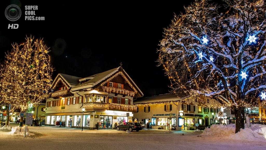 Рождественские огни. (Andreas Pueschel)