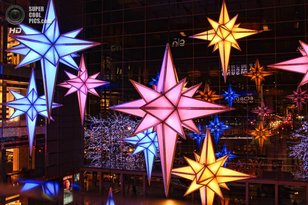 Рождественские огни. (Gary Burke)