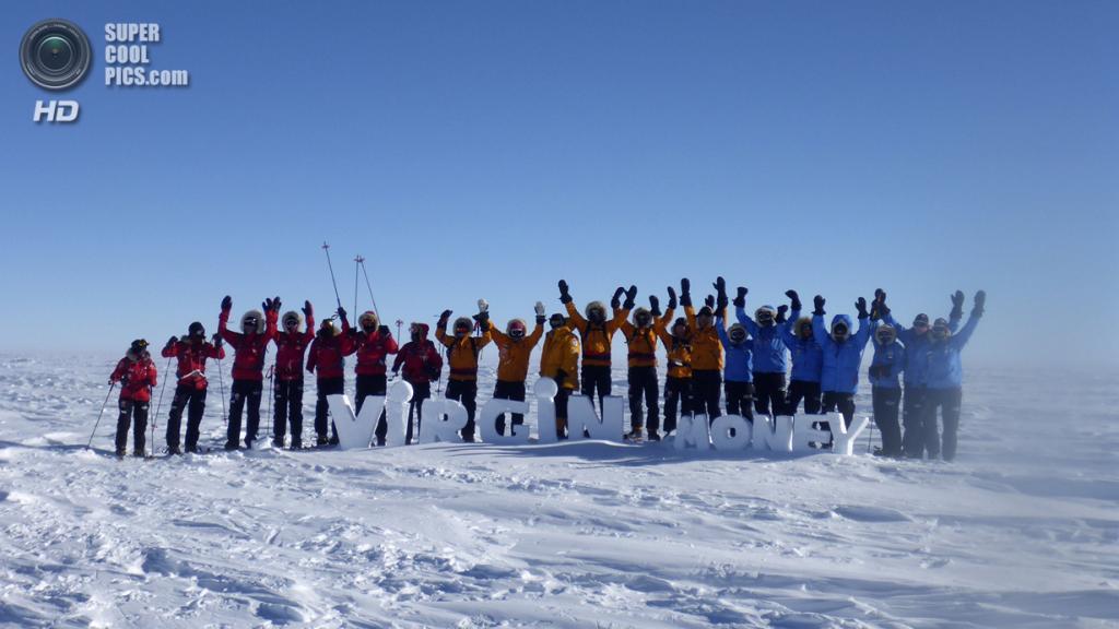 Антарктида. 1 декабря. Во время антарктической экспедиции. (REUTERS/Victoria Nicholson/Walking With the Wounded)