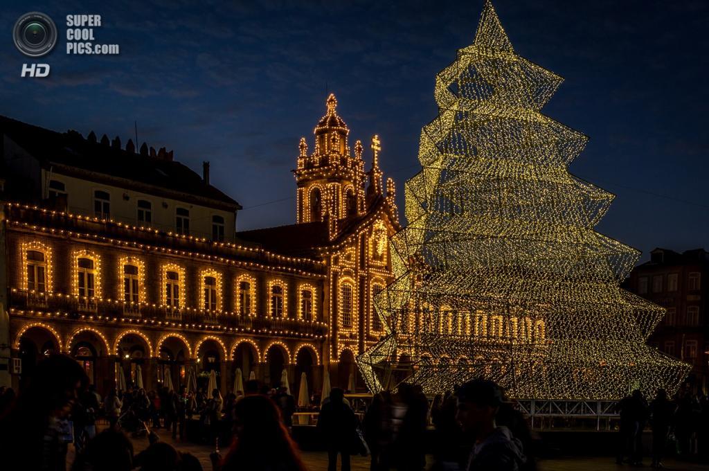 Рождественские огни. (Rui Marques)