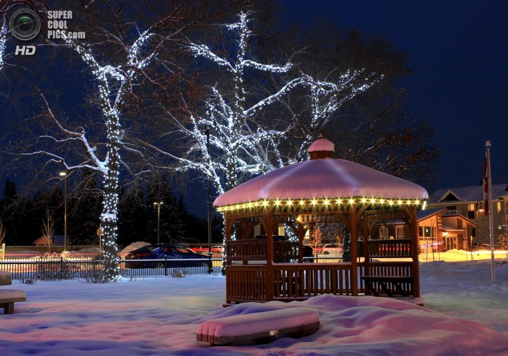 Рождественские огни. (Jenna Blumhagen)