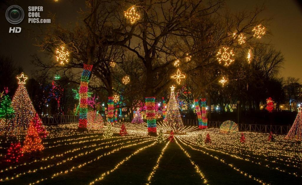Рождественские огни. (jologsnglangit)