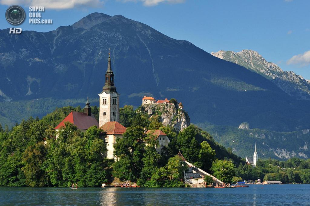 Словения. Крайна. Бледское озеро. (John Carter)