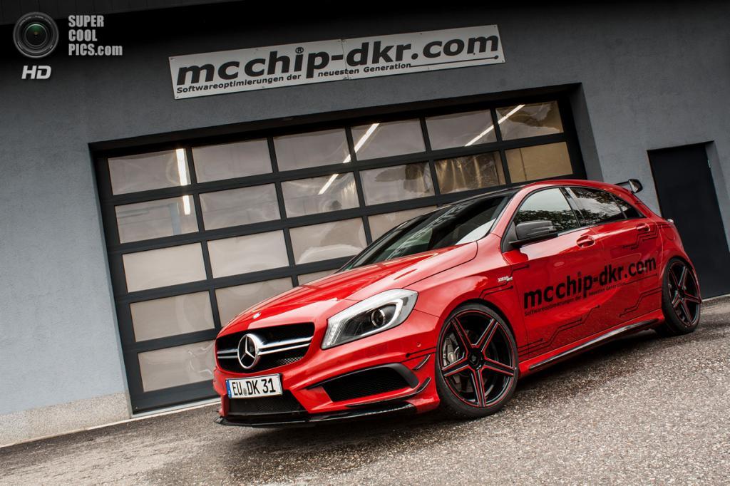 Mercedes-Benz A 45 AMG. (Mcchip-DKR)