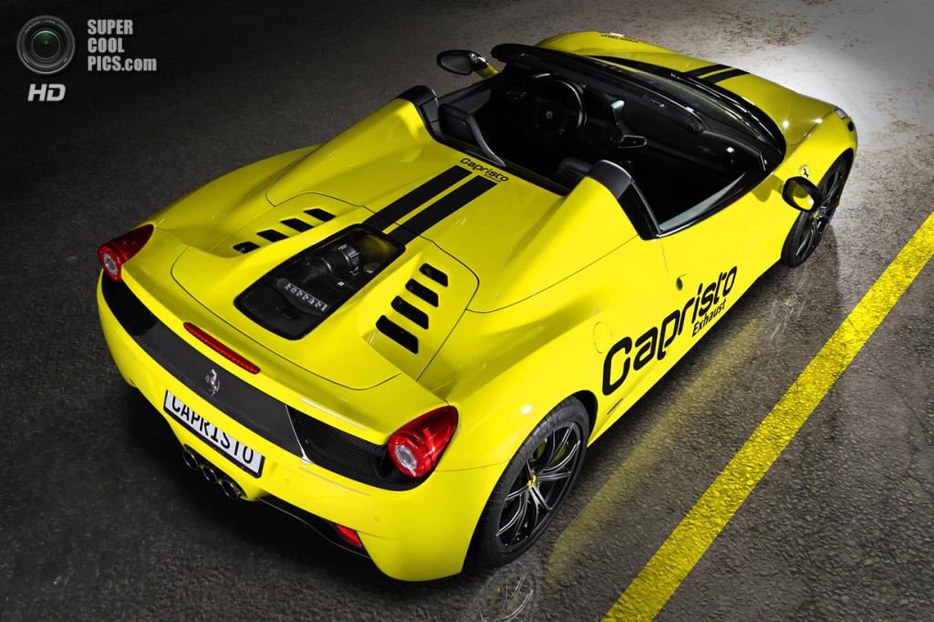 Ferrari 458 Italia Spider. (Capristo)