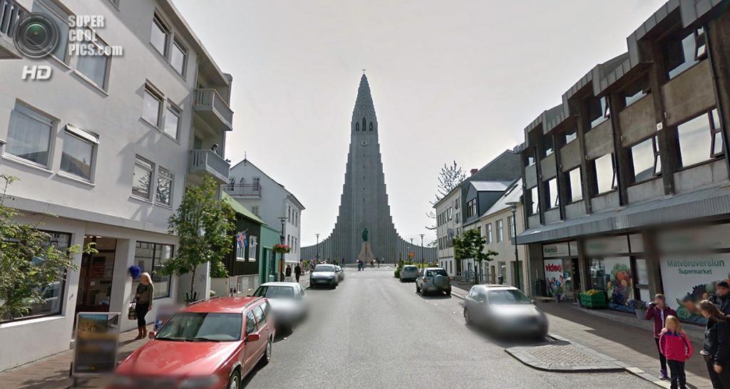 Исландия. Рейкьявик. Лютеранская церковь Хатльгримскиркья. (Google)