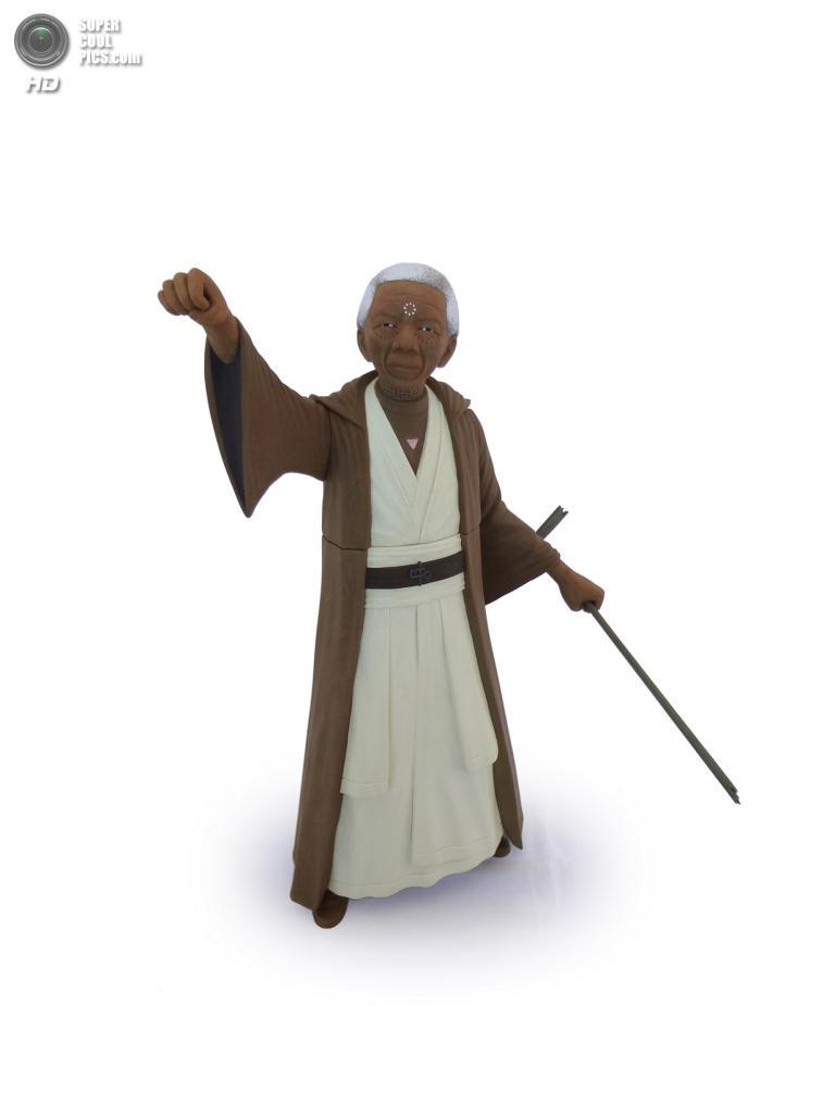 Нельсон Мандела в роли Мейса Винду. (Mike Leavitt/Rex USA)