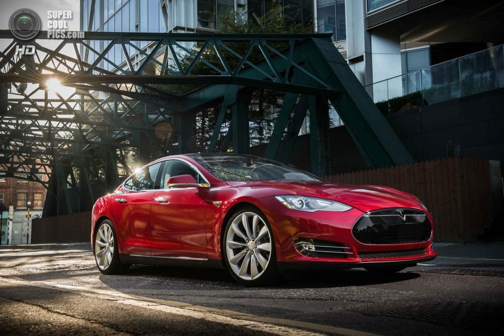 Tesla Model S. (Tesla Motors)