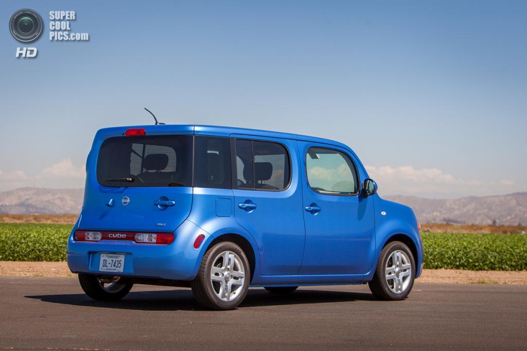 Nissan Cube. (Nissan)
