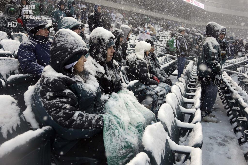 США. Филадельфия, Пенсильвания. На матче НФЛ. (AP Photo/Matt Rourke)