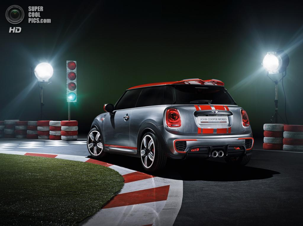 MINI John Cooper Works. (BMW AG)