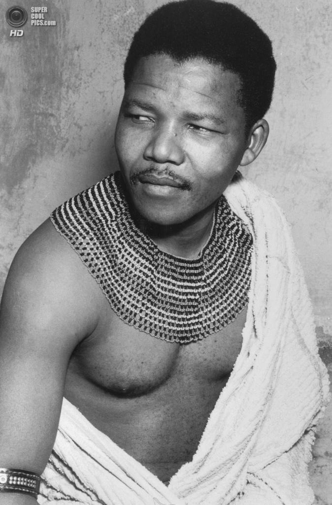 Нельсон Мандела в молодости. 1950 год. (Apic/Getty Images)