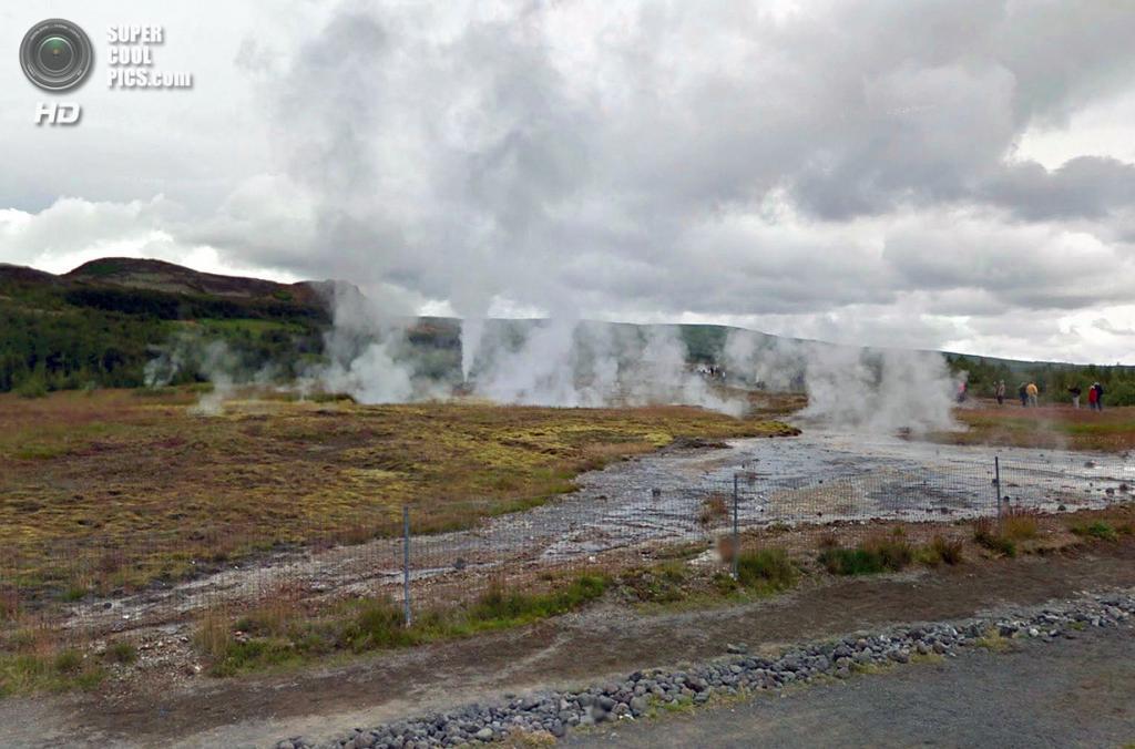 Исландия. Хаукадалур. Долина гейзеров. (Google)