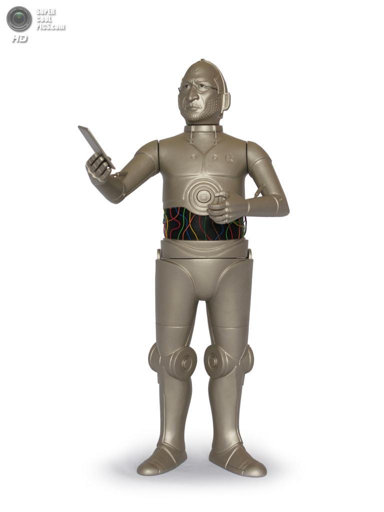 Стив Джобс в роли C-3PO. (Mike Leavitt/Rex USA)
